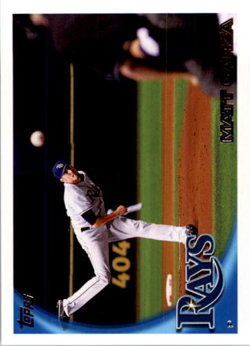Photo of 2010 Topps #399A Matt Garza