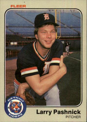 Photo of 1983 Fleer #338 Larry Pashnick