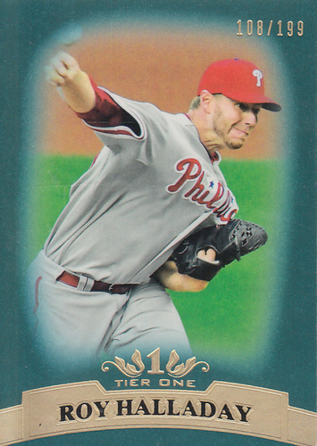 Photo of 2011 Topps Tier One Blue #82 Roy Halladay