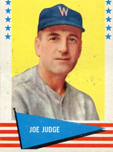 Photo of 1961 Fleer #118 Joe Judge