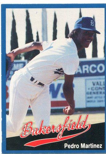 Photo of 1991 Bakersfield Dodgers Cal League #32 Pedro Martinez