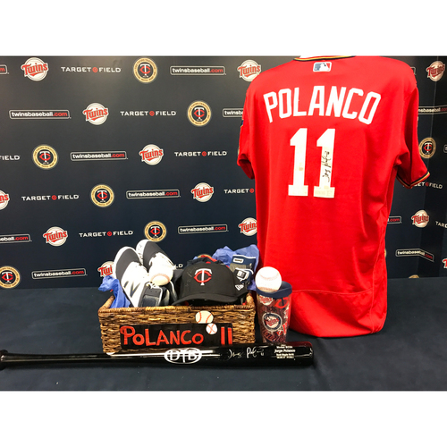 Photo of 2017 Twins Favorite Things Auction: Jorge Polanco Favorite Things Basket