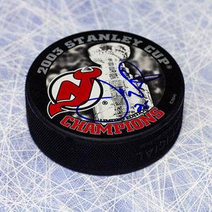 Joe Nieuwendyk New Jersey Devils Autographed Stanley Cup Puck