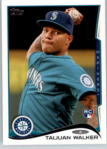 Photo of 2014 Topps #56A Taijuan Walker RC