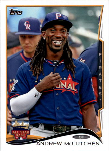 Photo of 2014 Topps Update #US216 Andrew McCutchen