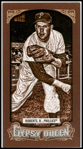 Photo of 2014 Topps Gypsy Queen Mini Sepia #36 Robin Roberts