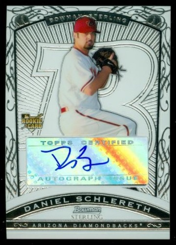 Photo of 2009 Bowman Sterling #DS Daniel Schlereth AU RC