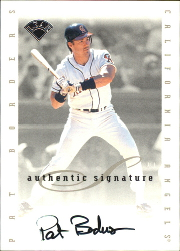 Photo of 1996 Leaf Signature Extended Autographs #11 Pat Borders