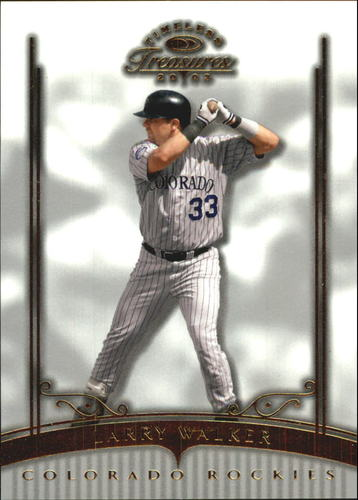 Photo of 2003 Timeless Treasures #52 Larry Walker