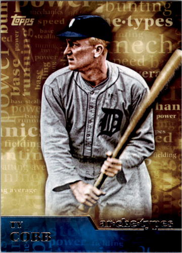 Photo of 2015 Topps Archetypes #A24 Ty Cobb