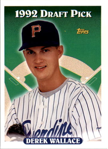 Photo of 1993 Topps #459 Derek Wallace RC
