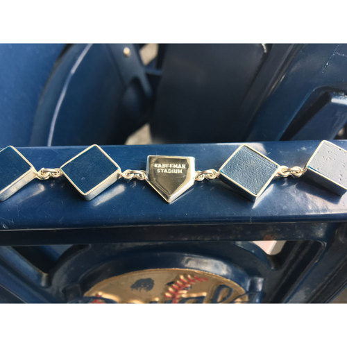 Photo of Kauffman Stadium Seat Charm Bracelet