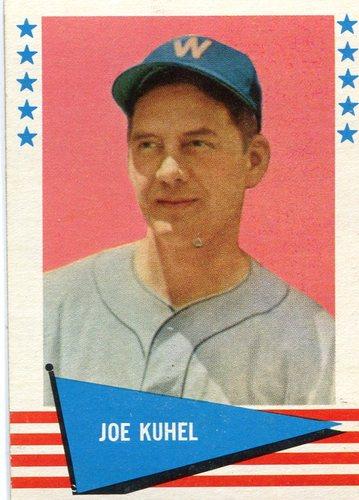 Photo of 1961 Fleer #119 Joe Kuhel