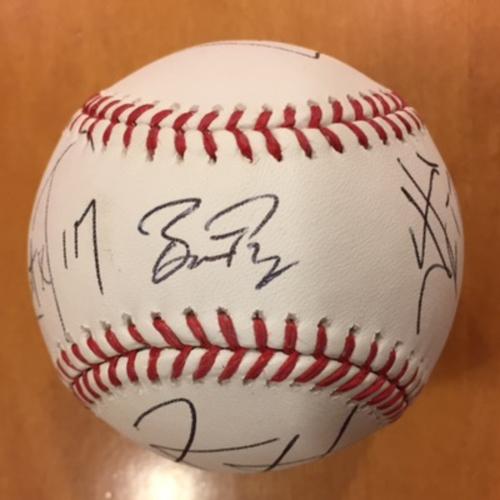 Giants Metallica Auction: Posey & Metallica Signed Baseball