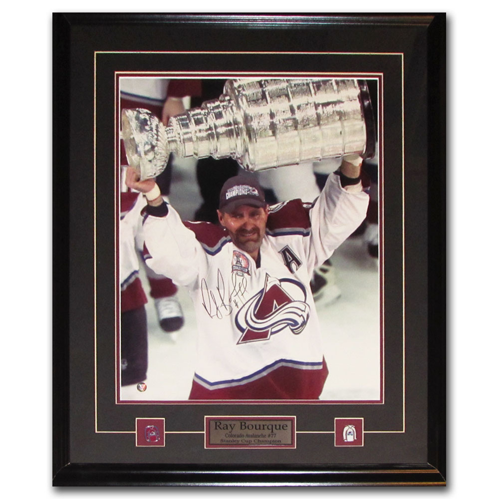 Ray Bourque Autographed Colorado Avalanche Framed 16X20 Photo