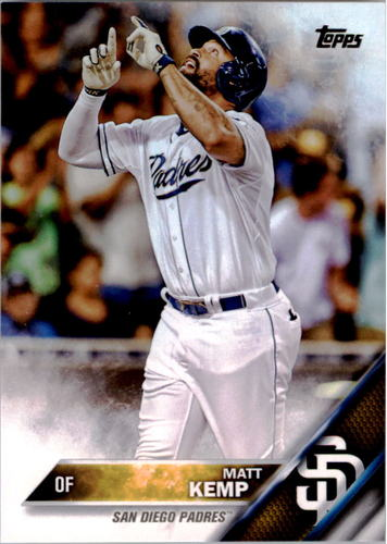 Photo of 2016 Topps #112 Matt Kemp