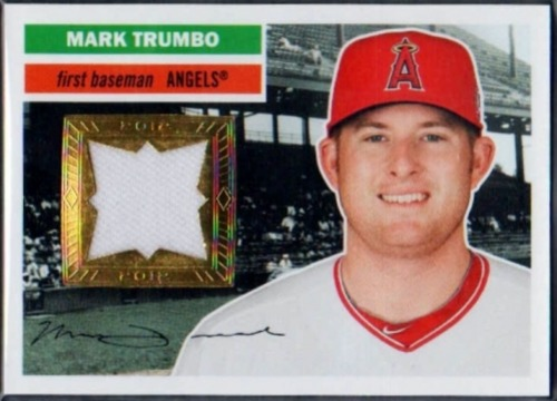 Photo of 2012 Topps Archives Relics #MT Mark Trumbo