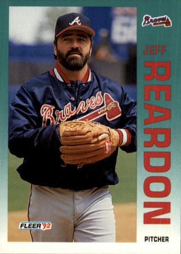 Photo of 1992 Fleer Update #71 Jeff Reardon