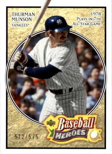 Photo of 2005 Upper Deck Baseball Heroes #194 Thurman Munson