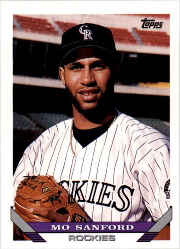 Photo of 1993 Topps #634 Mo Sanford