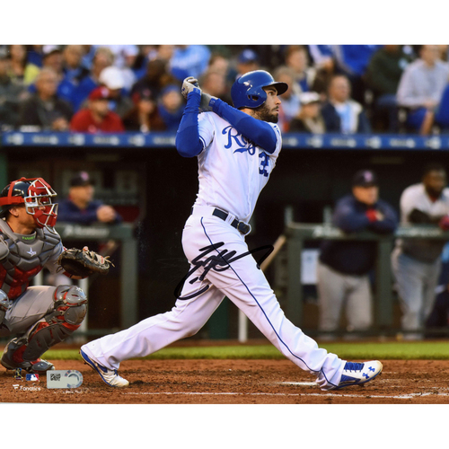 "Photo of Eric Hosmer Kansas City Royals Autographed 8"" x 10"" Horizontal Hitting Photograph"