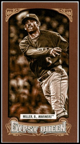 Photo of 2014 Topps Gypsy Queen Mini Sepia #177 Brad Miller