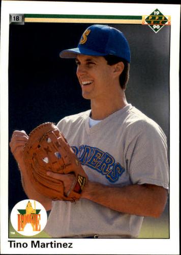 Photo of 1990 Upper Deck #37 Tino Martinez