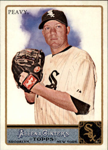 Photo of 2011 Topps Allen and Ginter #199 Jake Peavy