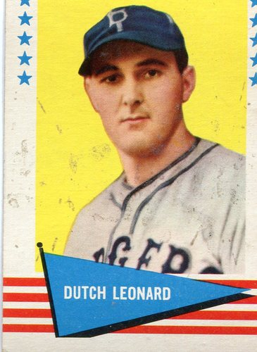 Photo of 1961 Fleer #121 Dutch Leonard