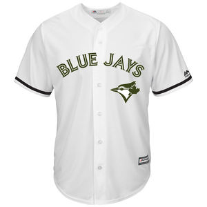 2017 Cool Base Replica Memorial Day Jersey White by Majestic