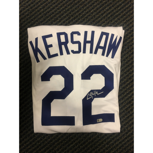 Photo of LA Dodgers Foundation All Star Game Auction: Clayton Kershaw Authentic Autographed Jersey