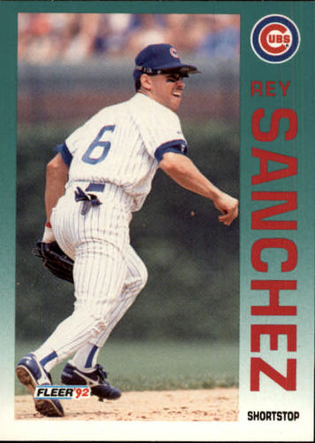 Photo of 1992 Fleer Update #75 Rey Sanchez RC