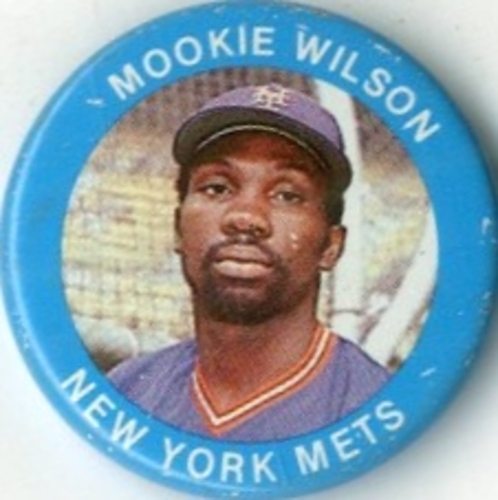 Photo of 1984 Fun Foods Pins #65 Mookie Wilson