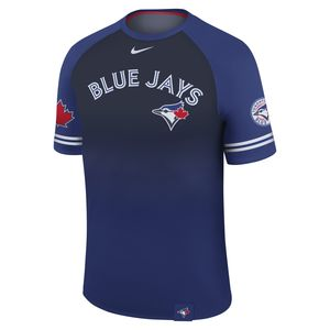 Toronto Blue Jays Sub Raglan Legend T-Shirt Dri-Fit Navy/Royal by Nike