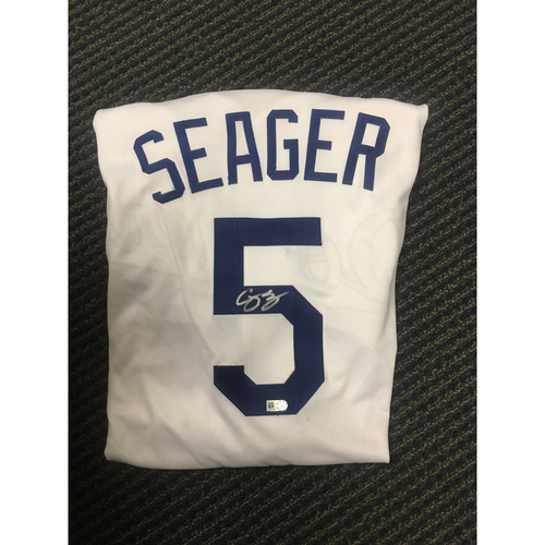 Photo of LA Dodgers Foundation All Star Game Auction: Corey Seager Authentic Autographed Jersey