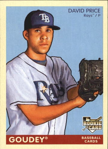 Photo of 2009 Upper Deck Goudey #183 David Price  Rookie Card