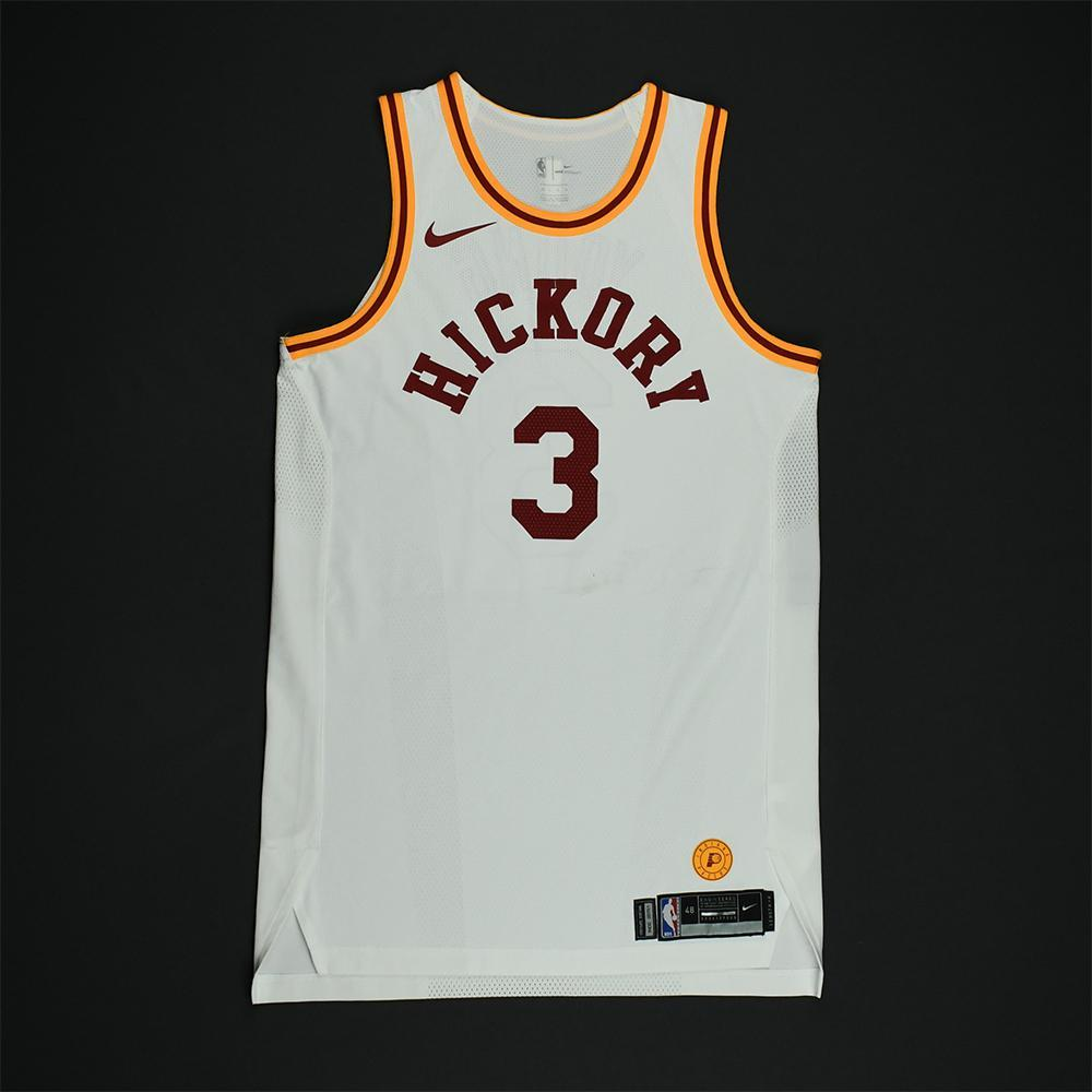 Joe Young - Indiana Pacers - 1986 Hoosiers Movie - '1954-55 Hickory Road' Classic Edition Game-Worn Jersey