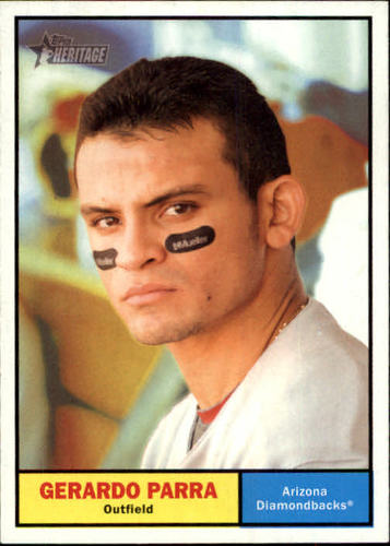 Photo of 2010 Topps Heritage #416 Gerardo Parra