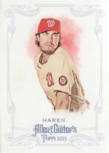Photo of 2013 Topps Allen and Ginter #12 Dan Haren