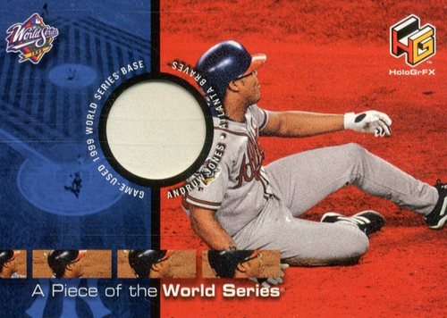 Photo of 2000 Upper Deck HoloGrFX A Piece of the Series #PS6 Andruw Jones