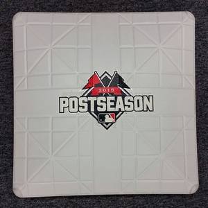 Authenticated Team Issued 2015 ALDS Series Base - 1st Base