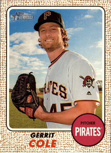 Photo of 2017 Topps Heritage #70 Gerrit Cole