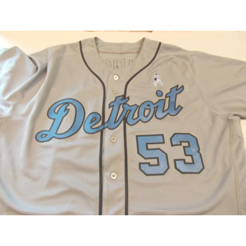 Photo of Game-Used Warwick Saupold Father's Day Jersey