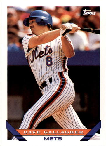 Photo of 1993 Topps #471 Dave Gallagher