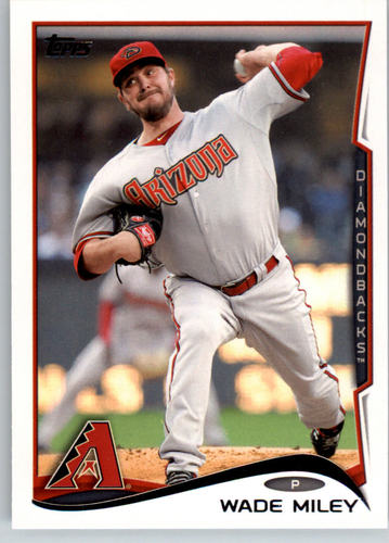 Photo of 2014 Topps #170 Wade Miley
