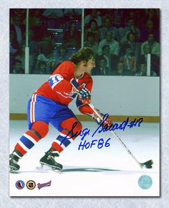 Serge Savard Montreal Canadiens Autographed Playmaker 8x10 Photo