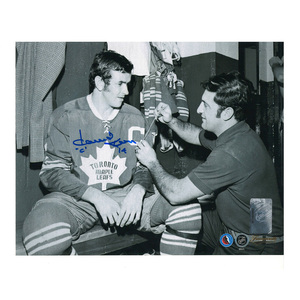 DAVE KEON Signed Vintage Toronto Maple Leafs 8 X 10 Photo - 70479
