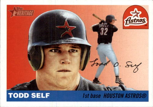 Photo of 2004 Topps Heritage #339 Todd Self RC