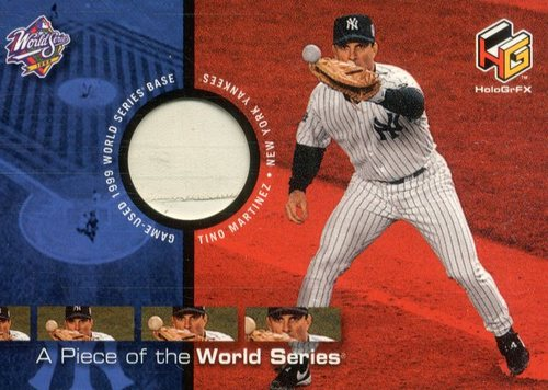 Photo of 2000 Upper Deck HoloGrFX A Piece of the Series #PS7 Tino Martinez