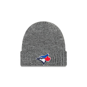 Toronto Blue Jays Chiller Knit Cuffed Cap Black by New Era